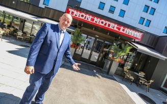 Hotelldirektøren på Linne er optimistisk
